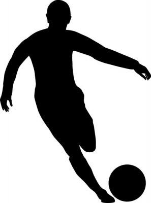 Adesivo calciatore