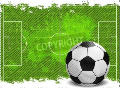 Adesivo Calcio disegno di sfondo