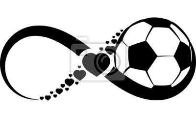 Adesivo Calcio o calcio Amore Infinito