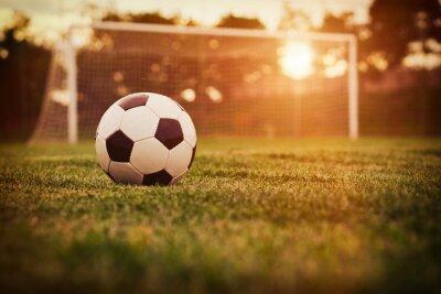 Adesivo Calcio tramonto