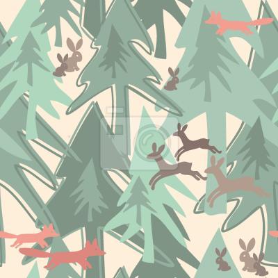 Adesivo Cambiare Stagione Nella Foresta