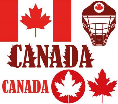 Adesivo Canada