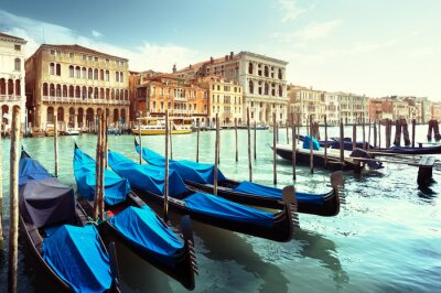 Adesivo Canal Grande, Venezia, Italia