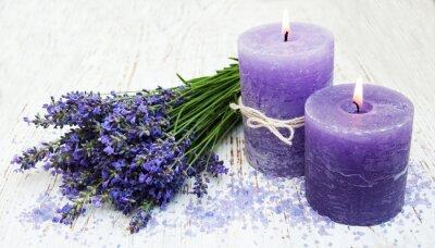 Adesivo candle, lavender and sea salt