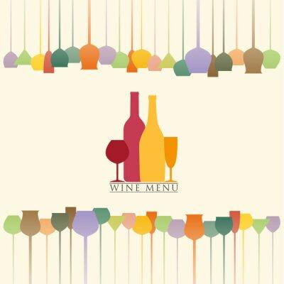 Adesivo Carta dei vini