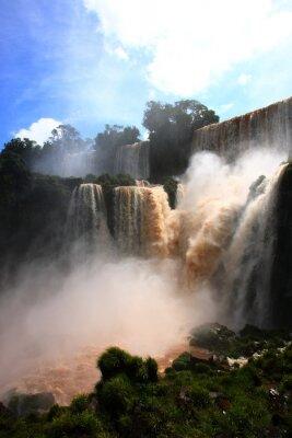 Adesivo cascata / Iguazu Falls in Argentina
