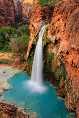 Adesivo Cascata nel Grand Canyon, Arizona, Stati Uniti