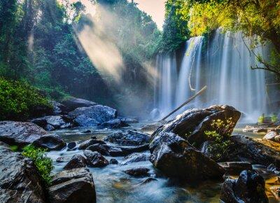 Adesivo Cascata tropicale