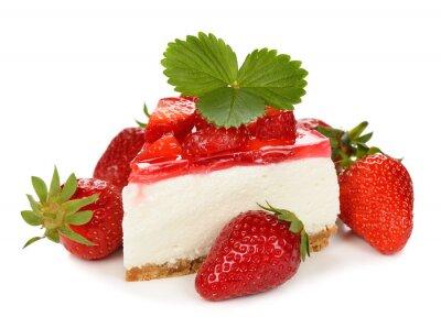 Adesivo cheesecake alla fragola