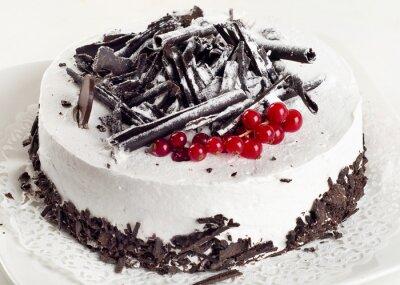 Adesivo Cheesecake con ribes rosso