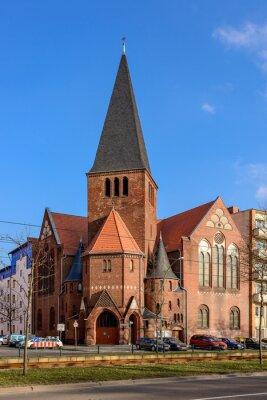 Adesivo Chiesa Avvento a Berlino Bötzowviertel