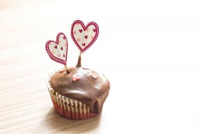 Adesivo Chocolate Muffin Dessert