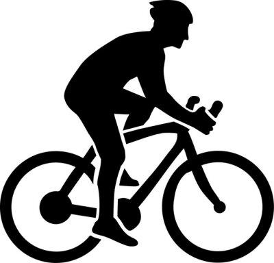 Adesivo Ciclismo Silhouette