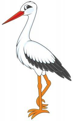 Adesivo Cicogna