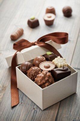 Adesivo cioccolatini