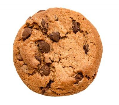Adesivo cioccolato chip cookie