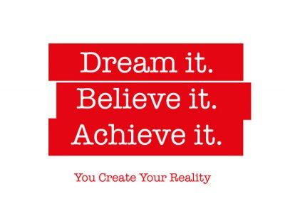 Adesivo Citazione motivazionale che vi spingerà per avere successo. Parole che ispirano il vostro cuore, motivare la mente nella vita, creazione di successo, raggiungere i vostri obiettivi, e superare le tue