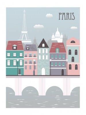 Adesivo Città di Parigi.