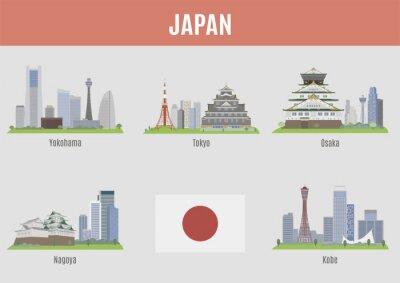 Adesivo Città in Giappone