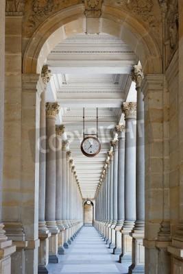 Adesivo Classico colonnato in Karlovy Vary, Repubblica Ceca