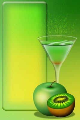 Adesivo Cocktail Menu-Aperitivo Menu-Aperitivo Menu 4