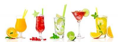 Adesivo Cocktail tropicali assortimenti