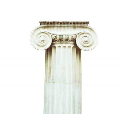 Adesivo Colonna antica in stile dorico