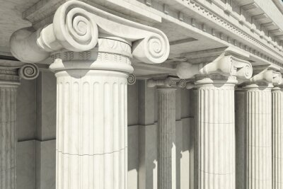 Adesivo Columns. ionic order.