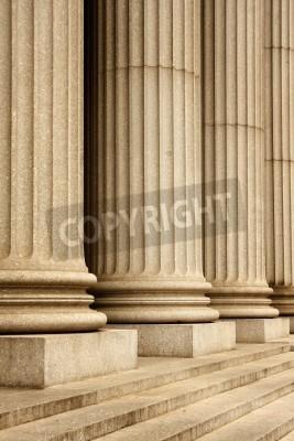 Adesivo Columns of the Supreme Court building - New York City, USA