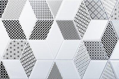 Adesivo consistenza della piastrella classico, modello astratto