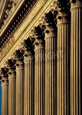 Adesivo Corte Suprema Costruire facciata e colonne