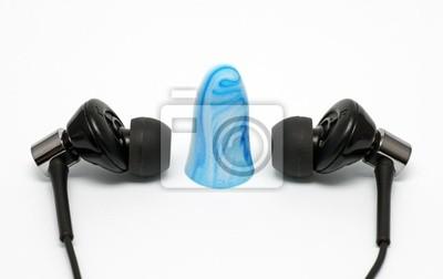 Cuffie con ear plug - kopfhörer mit ohrstöpsel adesivi per il ... 59779137bb49