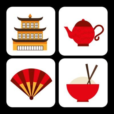 Adesivo cultura cinese