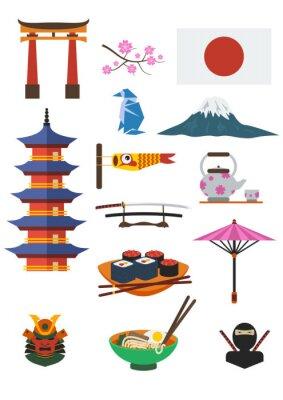 Adesivo Cultura giapponese Set