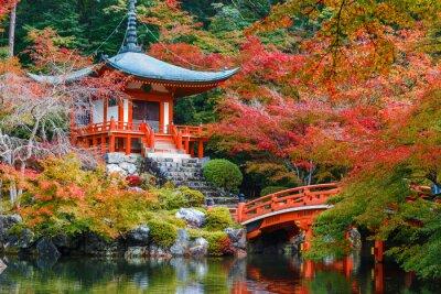 Adesivo Daigoji Tempio a Kyoto