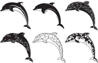 Adesivo delfini
