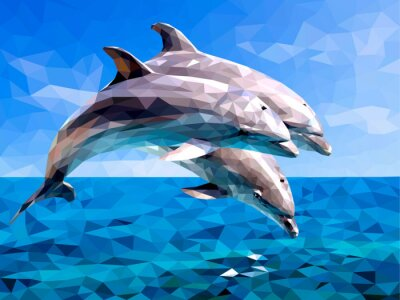 Adesivo delfino