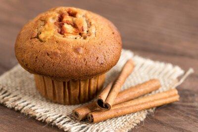 Adesivo Delicious mela e cannella muffin