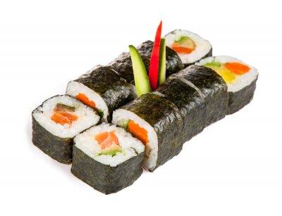 Adesivo Deliziosi pezzi di sushi