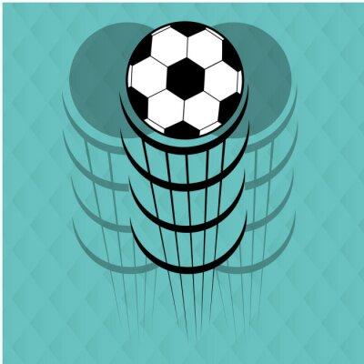 Adesivo disegno calcio calcio