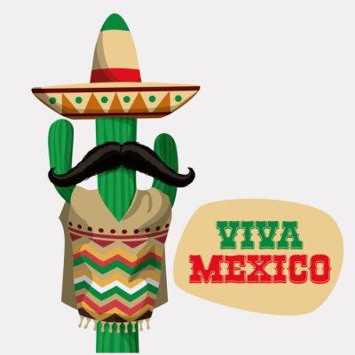 Adesivo Disegno Messico.