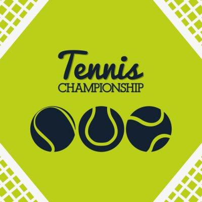 Adesivo disegno Tennis Sport