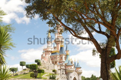 Adesivo Disneyland Paris castle