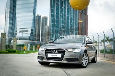 Adesivo Display Audi A6 a Hong Kong 2011
