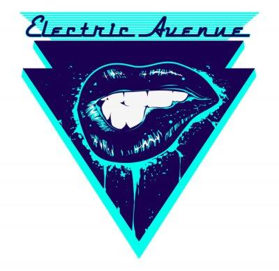Adesivo Electric Avenue