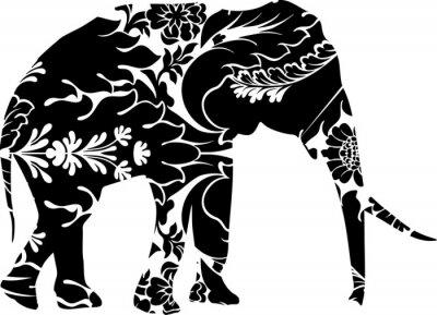Adesivo Elefante Graphic