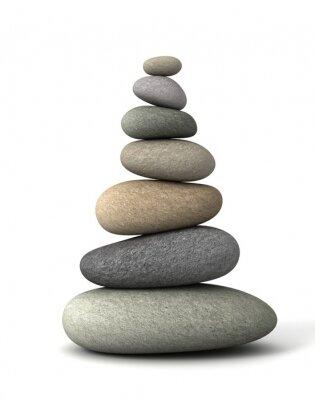 Adesivo equilibrio pietre
