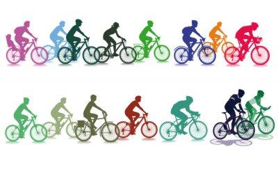 Adesivo Escursioni in bici il gruppo