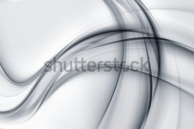 Adesivo Estratto impressionante della carta da parati grigia bianca luminosa