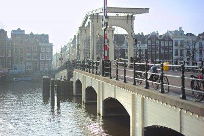 Adesivo Famoso Ponte Magro, Amsterdam